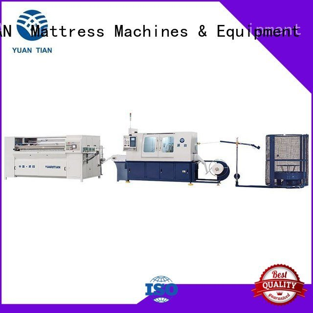 dzh3 production Automatic High Speed Pocket Spring Machine pocketspring YUANTIAN Mattress Machines
