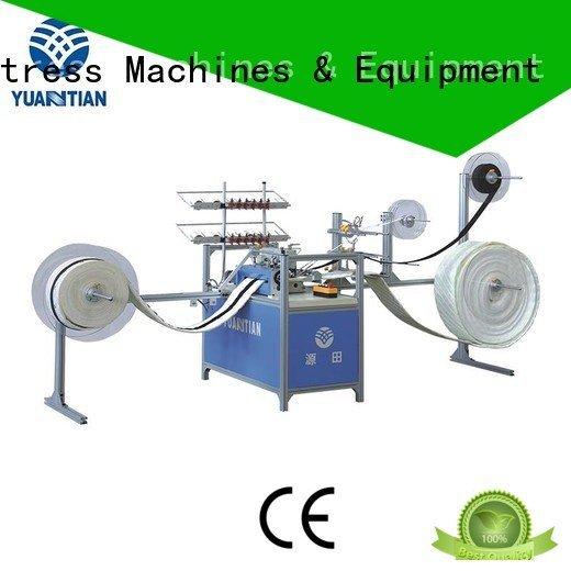 YUANTIAN Mattress Machines Brand decorative long Mattress Sewing Machine longarm arm