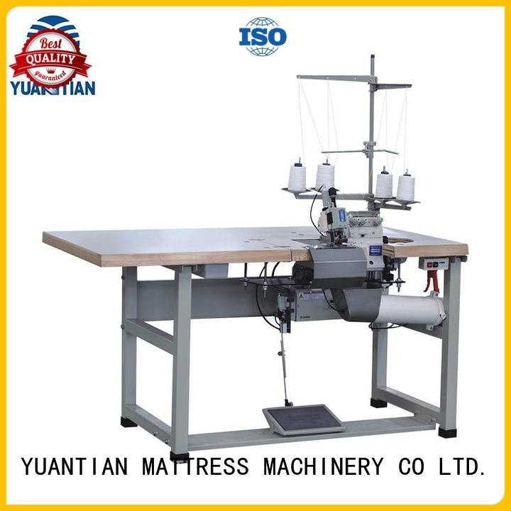 multifunction heads flanging YUANTIAN Mattress Machines Double Sewing Heads Flanging Machine