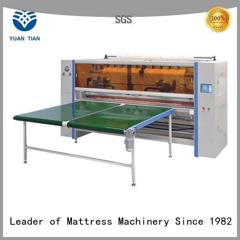 Mattress Cutting Machine Supplier cutting mattress Mattress Cutting Machine YUANTIAN Mattress Machines Warranty