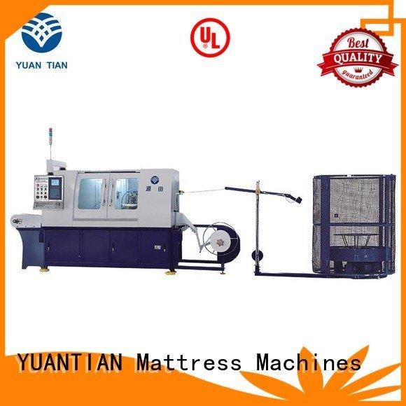 machine automatic YUANTIAN Mattress Machines Automatic Pocket Spring Machine