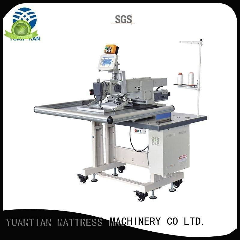 YUANTIAN Mattress Machines arm autimatic border singer  mattress  sewing machine price decorative