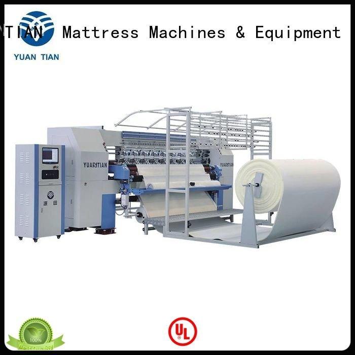 needle stitching single YUANTIAN Mattress Machines quilting machine for mattress price