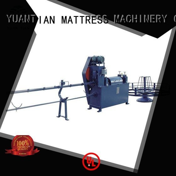 foam mattress making machine wire zx1 border bending YUANTIAN Mattress Machines