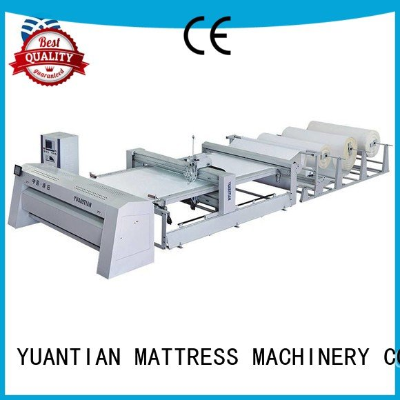 Custom quilting machine for mattress mattress machine needle YUANTIAN Mattress Machines