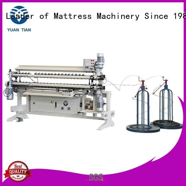 semiauto spring machine spring YUANTIAN Mattress Machines bonnell spring unit machine