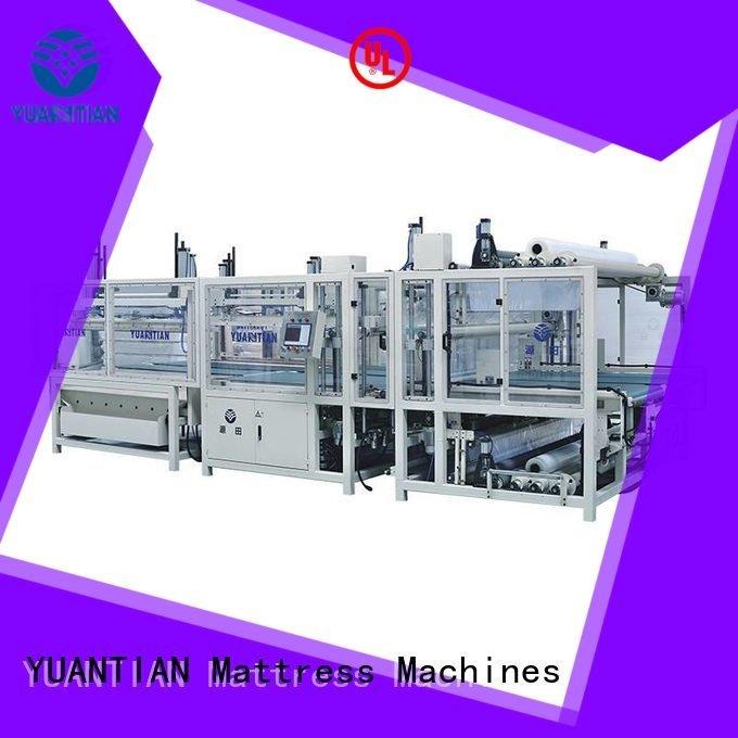 Hot mattress packing machine unit YUANTIAN Mattress Machines Brand
