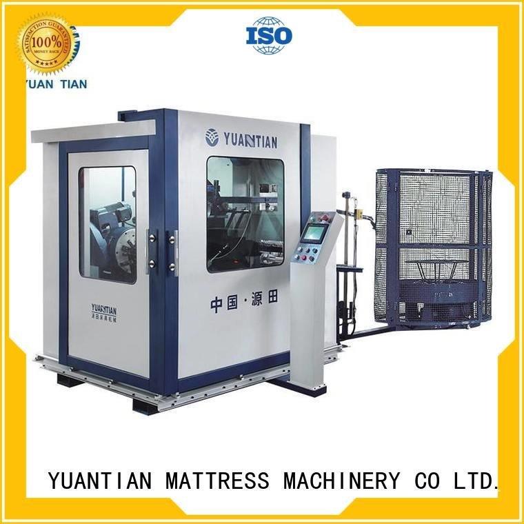 bonnell spring machine unit Automatic Bonnell Spring Coiling Machine YUANTIAN Mattress Machines