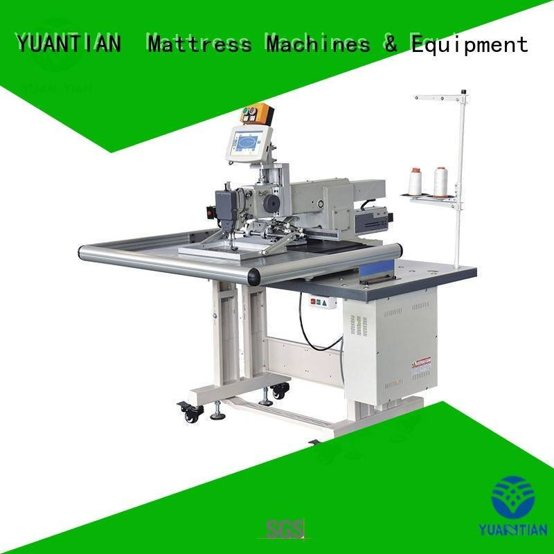 autimatic label YUANTIAN Mattress Machines singer  mattress  sewing machine price