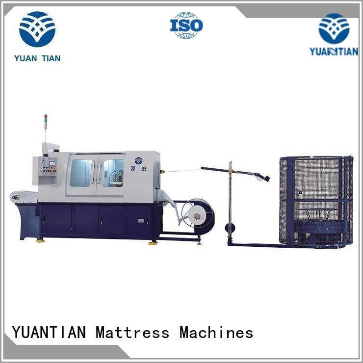 YUANTIAN Mattress Machines assembling dtdx012 Automatic High Speed Pocket Spring Machine speed high
