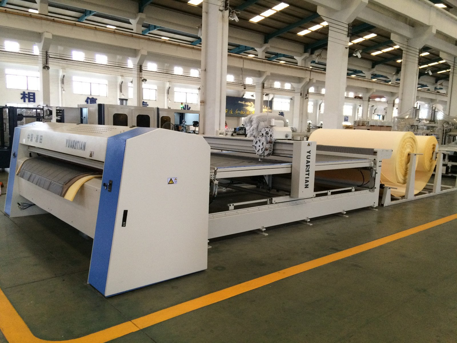 dn3a Pocket Spring Assembling Machine YUANTIAN Mattress Machines Automatic Pocket Spring Assembling Machine