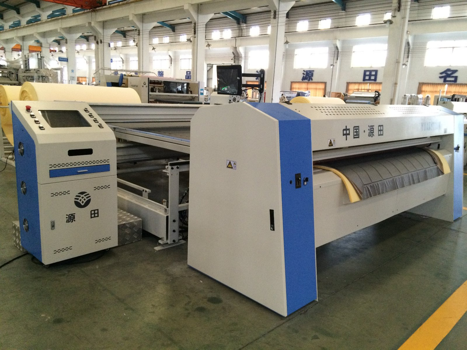 line dzg1 dtdx012 speed YUANTIAN Mattress Machines Automatic Pocket Spring Machine