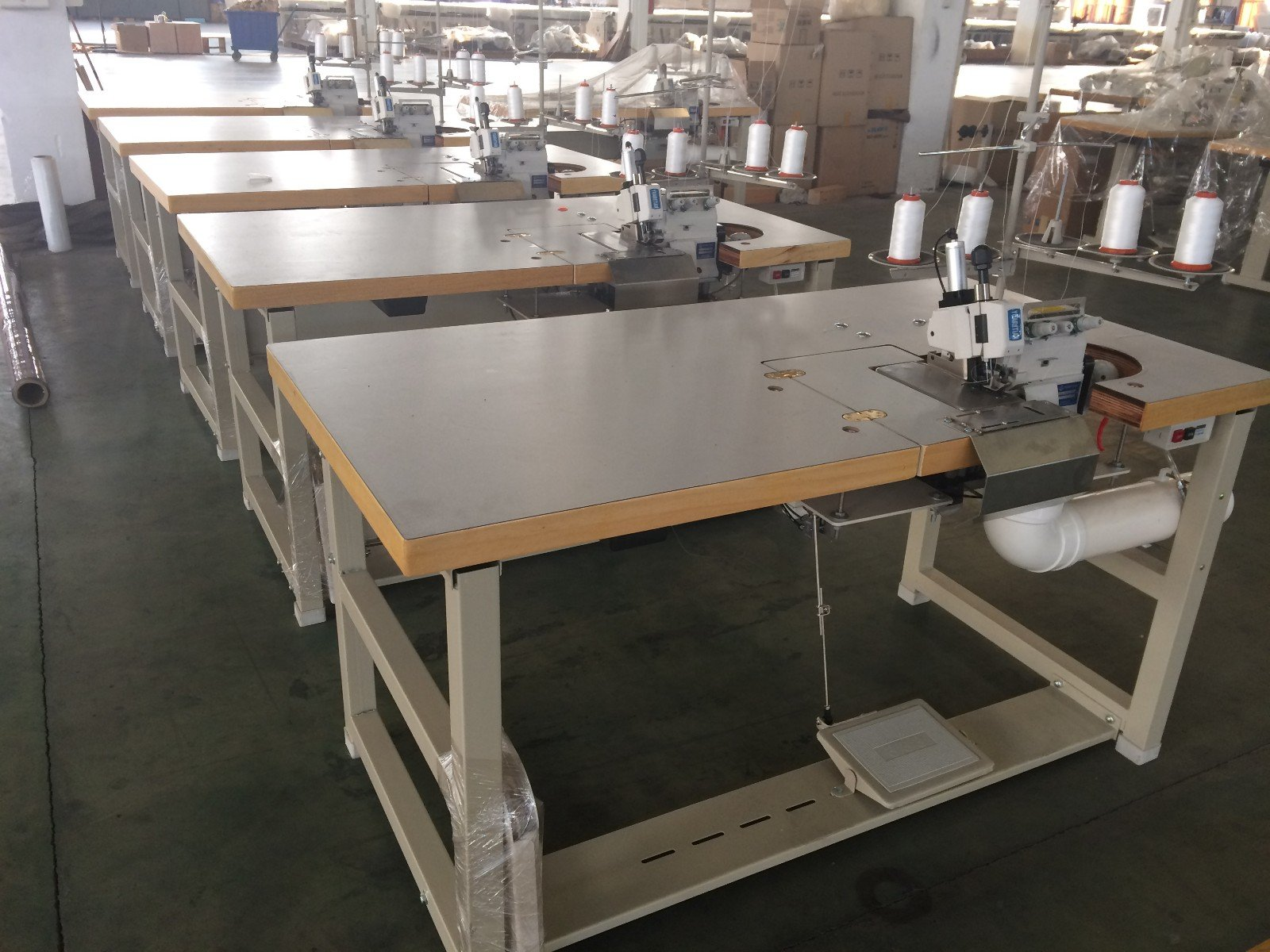 heavyduty Mattress Flanging Machine heads machine YUANTIAN Mattress Machines