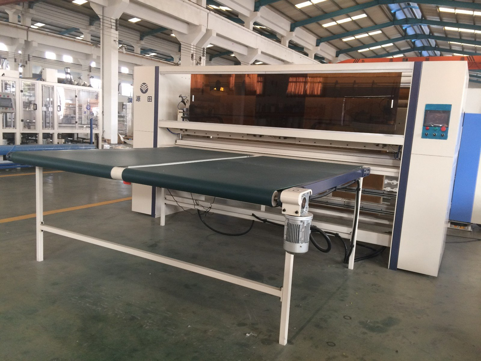 Hot Mattress Cutting Machine Supplier panel mattress machine YUANTIAN Mattress Machines Brand
