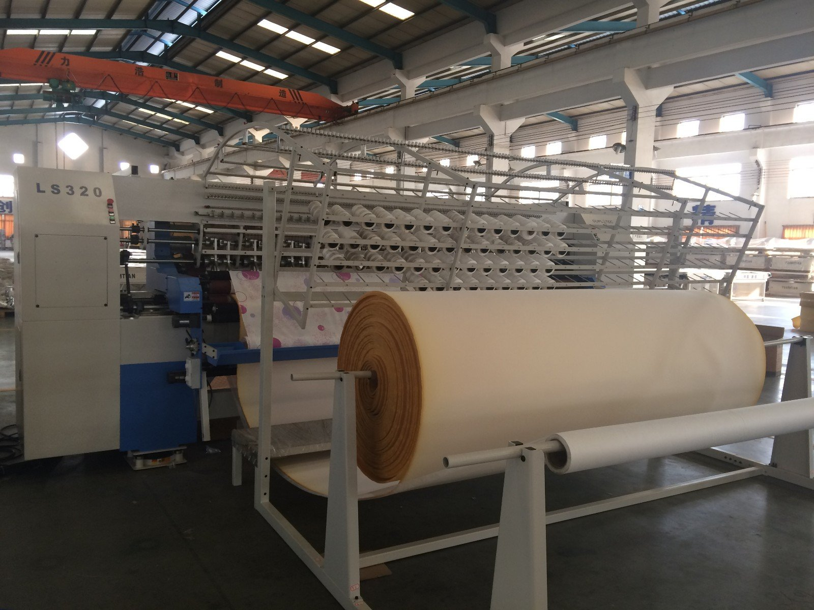 lockstitch machine stitching side YUANTIAN Mattress Machines quilting machine for mattress price