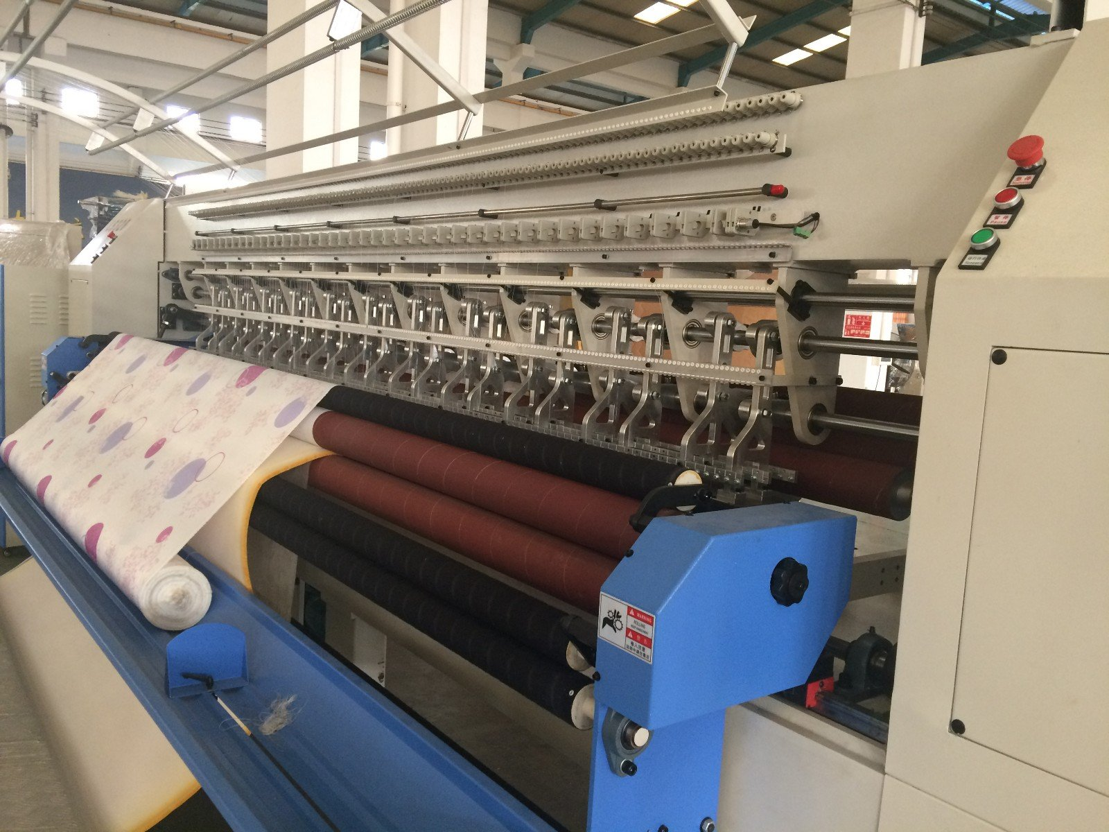 Custom singleneedle quilting machine for mattress quilting quilting machine for mattress price