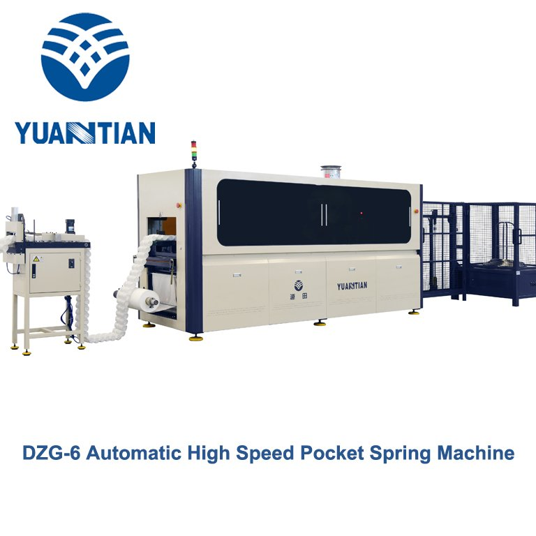line production Automatic High Speed Pocket Spring Machine high YUANTIAN Mattress Machines