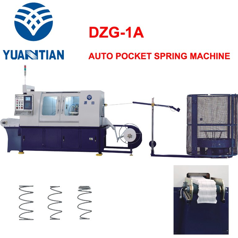OEM Automatic Pocket Spring Machine coiling speed coiler Automatic High Speed Pocket Spring Machine