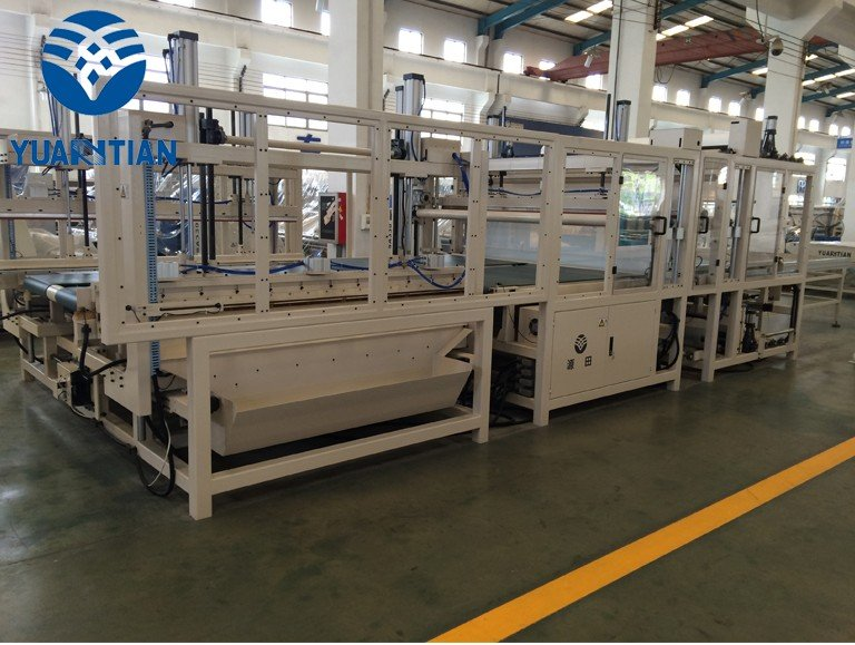 OEM foam mattress making machine unpressing straightening unit mattress packing machine