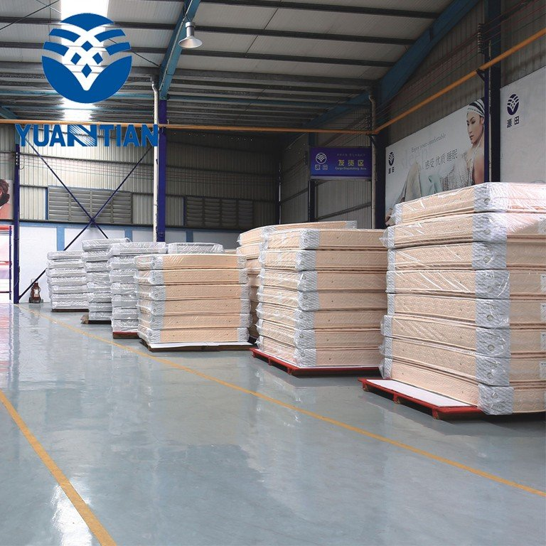 packing automatic YUANTIAN Mattress Machines foam mattress making machine