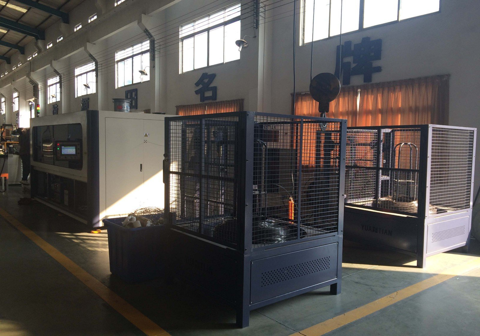Custom Automatic High Speed Pocket Spring Machine assembling coiler spring YUANTIAN Mattress Machines