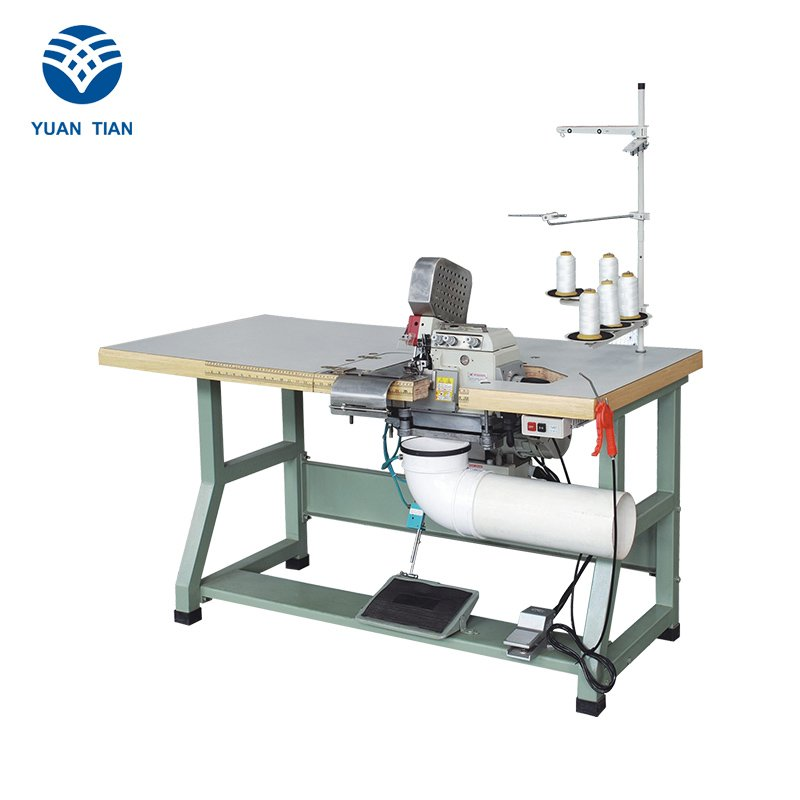 Double Sewing Heads Flanging Machine sewing Mattress Flanging Machine flanging YUANTIAN Mattress Machines