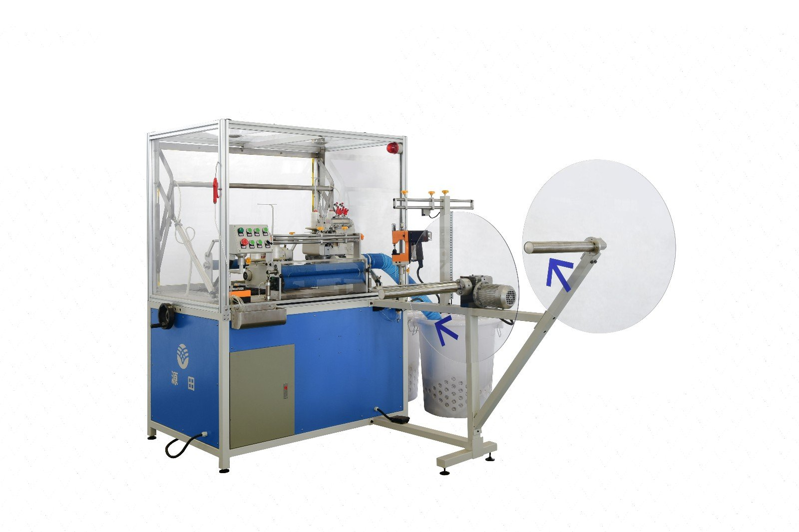 Double Sewing Heads Flanging Machine flanging machine Mattress Flanging Machine