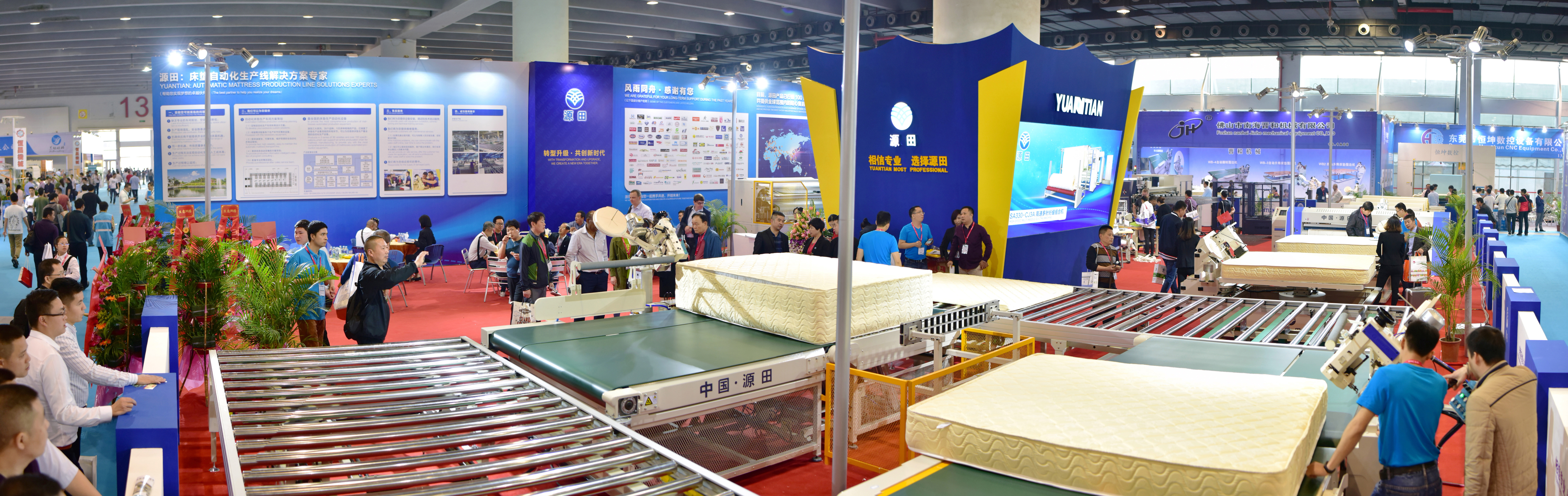 Customized Automatic Mattress Conveyor Production Line