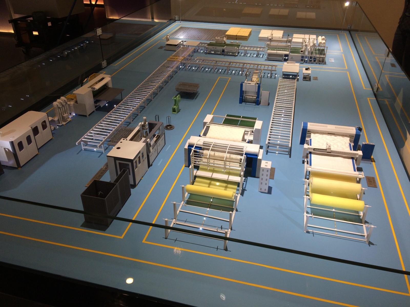 twin mattress to king converter transfer conveyor Auto Mattress Conveyor Production Line YUANTIAN Mattress Machines Brand