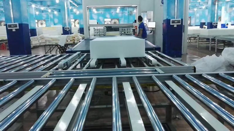 twin mattress to king converter automatic line Auto Mattress Conveyor Production Line