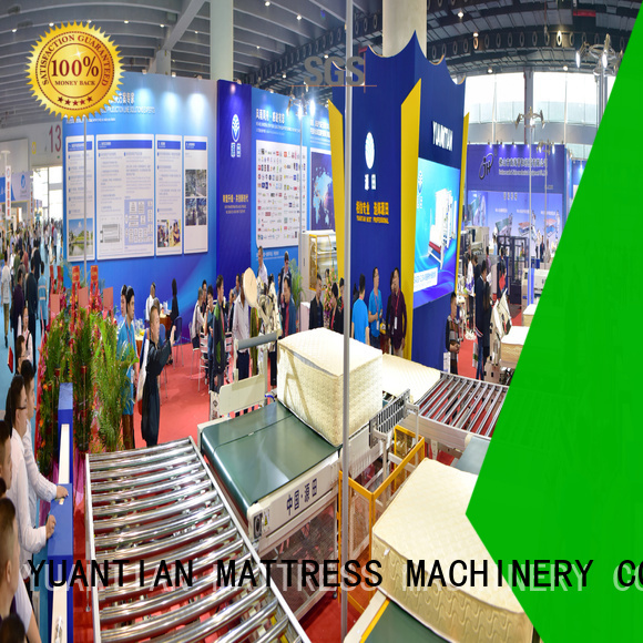 automatic production conveyor YUANTIAN Mattress Machines Brand Auto Mattress Conveyor Production Line