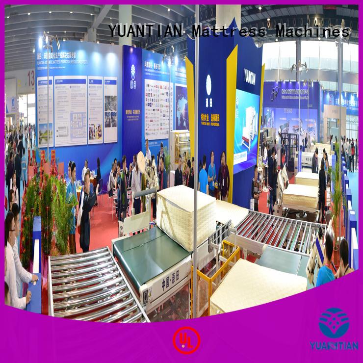 twin mattress to king converter transfer Auto Mattress Conveyor Production Line YUANTIAN Mattress Machines