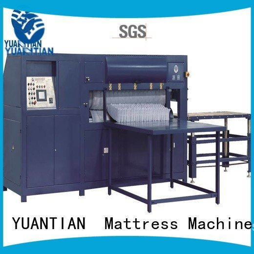 OEM mattress packing machine mattress border foam mattress making machine