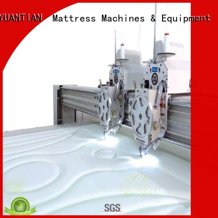 stitching needle quilting highspeed YUANTIAN Mattress Machines Brand quilting machine for mattress supplier