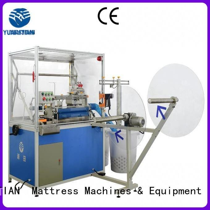 YUANTIAN Mattress Machines sewing flanging Double Sewing Heads Flanging Machine
