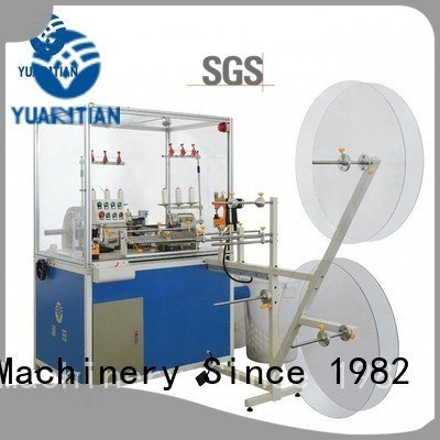 YUANTIAN Mattress Machines double heads Mattress Flanging Machine sewing flanging