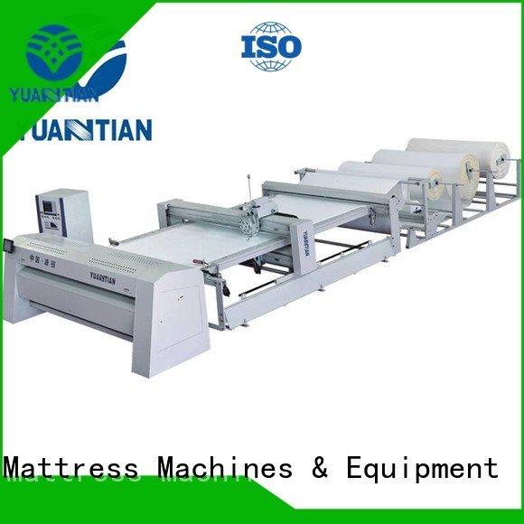 Wholesale single side quilting machine for mattress YUANTIAN Mattress Machines Brand
