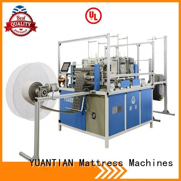 YUANTIAN Mattress Machines Brand side multineedle quilting machine for mattress price heads quilting