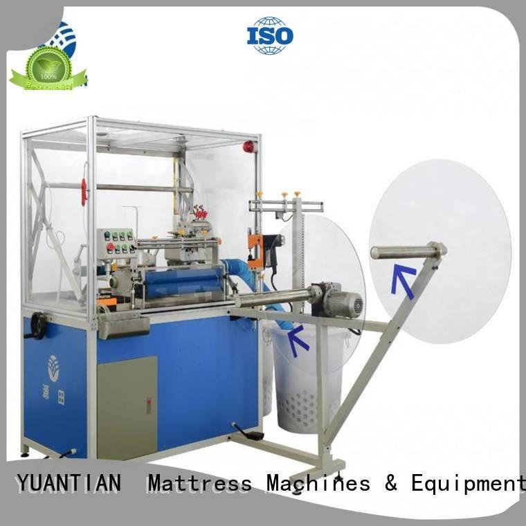 Double Sewing Heads Flanging Machine heavyduty heads multifunction machine YUANTIAN Mattress Machines
