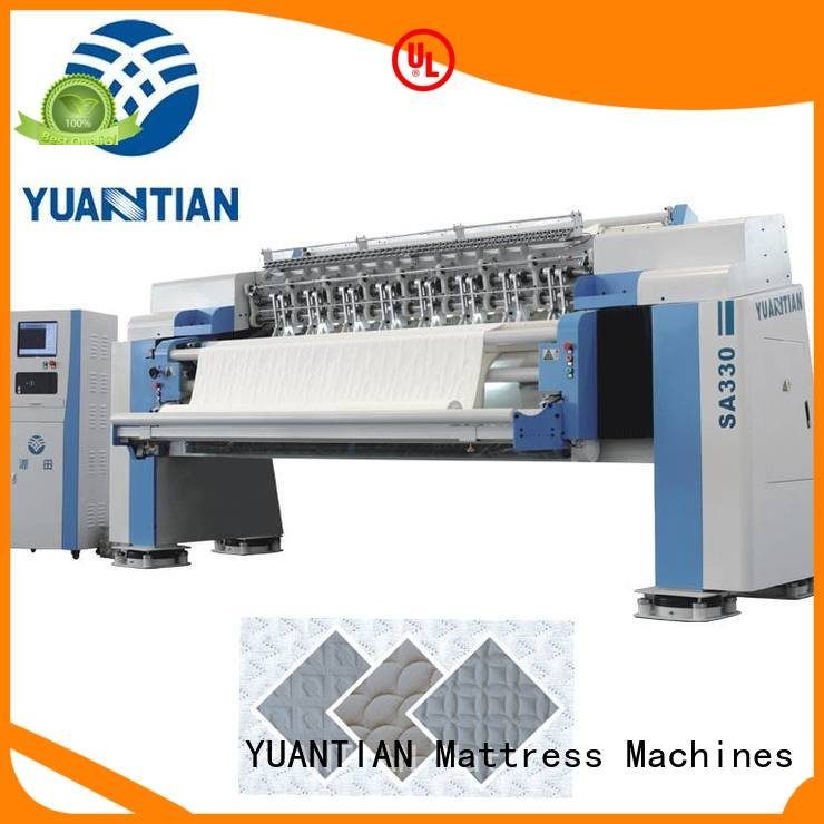 Hot quilting machine for mattress price four quilting machine for mattress lockstitch YUANTIAN Mattress Machines