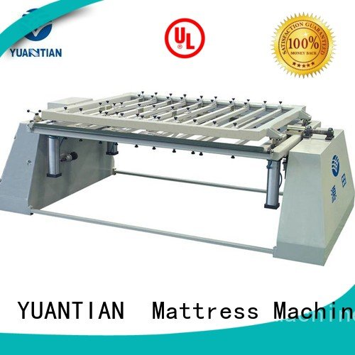 spring bending foam mattress making machine YUANTIAN Mattress Machines