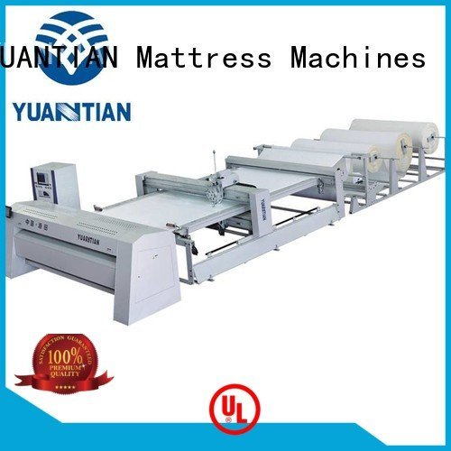 quilting machine for mattress price four side quilting machine for mattress YUANTIAN Mattress Machines Brand