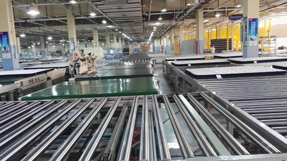 Auto Mattress Production Line Conveyor