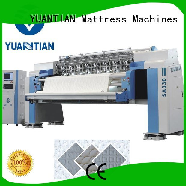 highspeed needle YUANTIAN Mattress Machines quilting machine for mattress