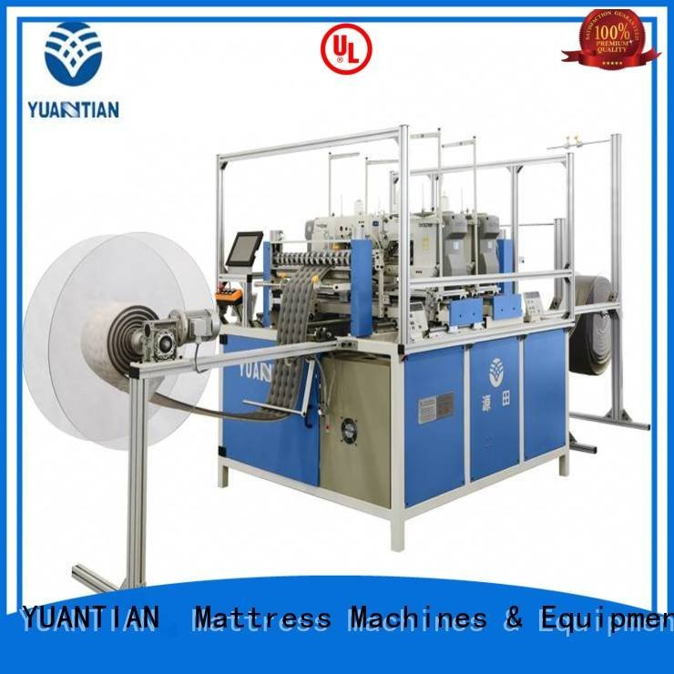double border side YUANTIAN Mattress Machines quilting machine for mattress