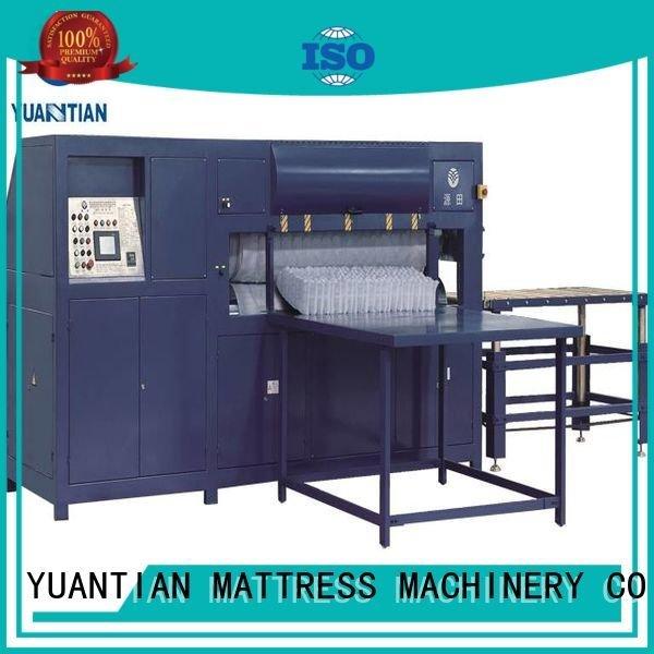 mattress unpressing unit YUANTIAN Mattress Machines foam mattress making machine