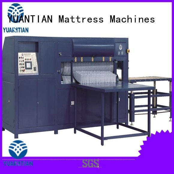 foam mattress making machine unpressing mattress packing machine poket poket