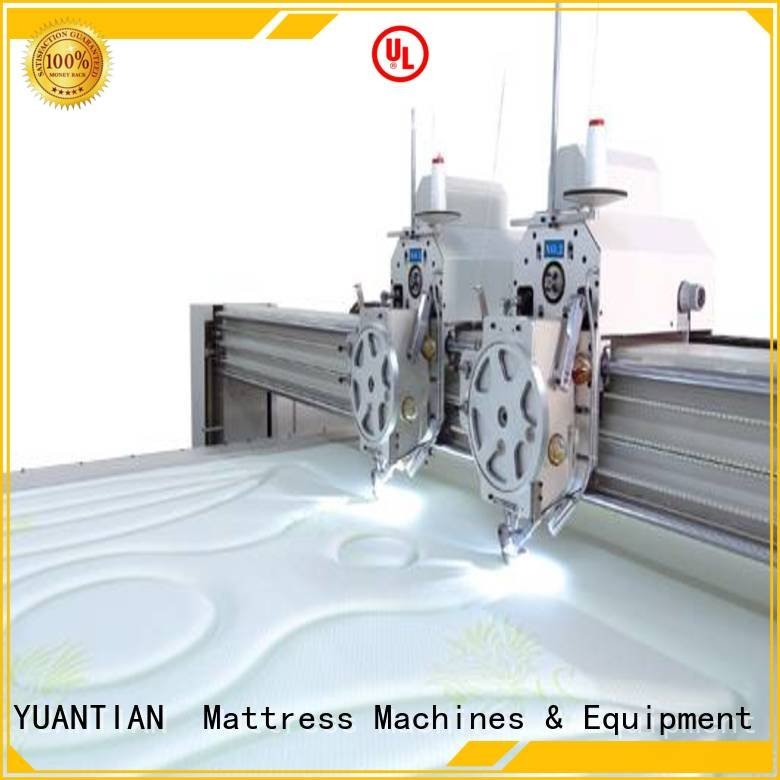Wholesale singleneedle double quilting machine for mattress YUANTIAN Mattress Machines Brand