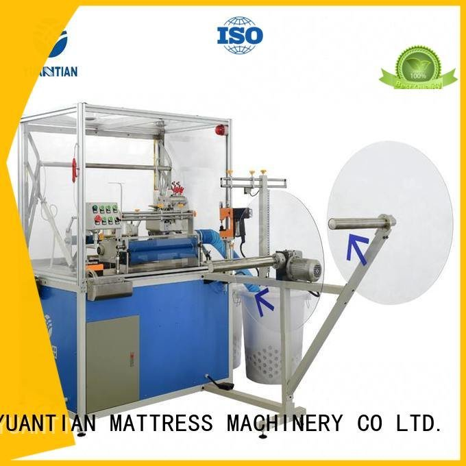 YUANTIAN Mattress Machines Brand double flanging Double Sewing Heads Flanging Machine mattress multifunction