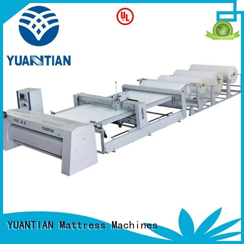 YUANTIAN Mattress Machines quilting machine for mattress price single multineedle heads